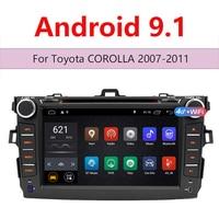 Android 9.1 Car Multimedia 2 Din 8 inch Auto Radio Mp5 Double Din Autoradio for For Toyota Corolla 2007 2011 GPS WIFI 47