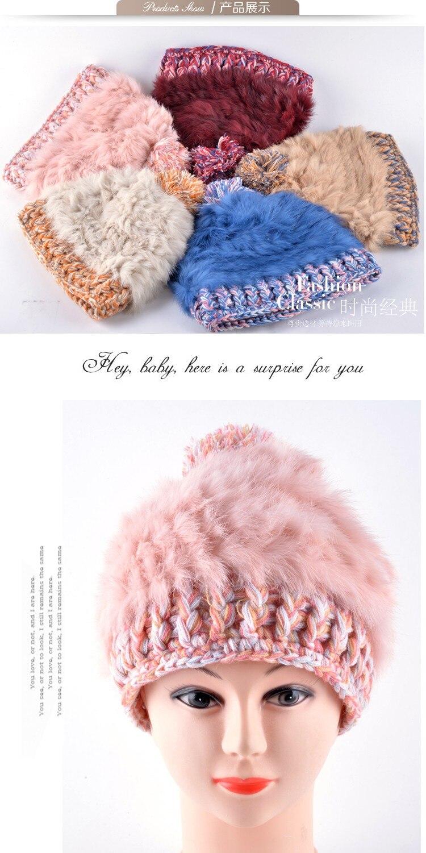 ②Moda sombreros de invierno para las mujeres noble y elegante ...