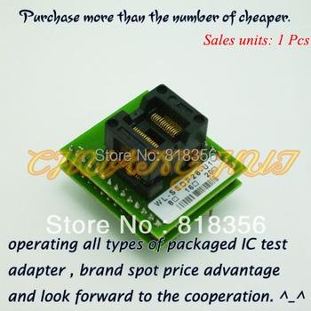 WL-SSOP28-U1 Adapter for Wellon Programmer Adapter TSSOP28 Adapter IC Test Socket/IC Socket wl pl44 u1 adapter for wellon programmer adapter plcc44 adapter ic test socket ic socket