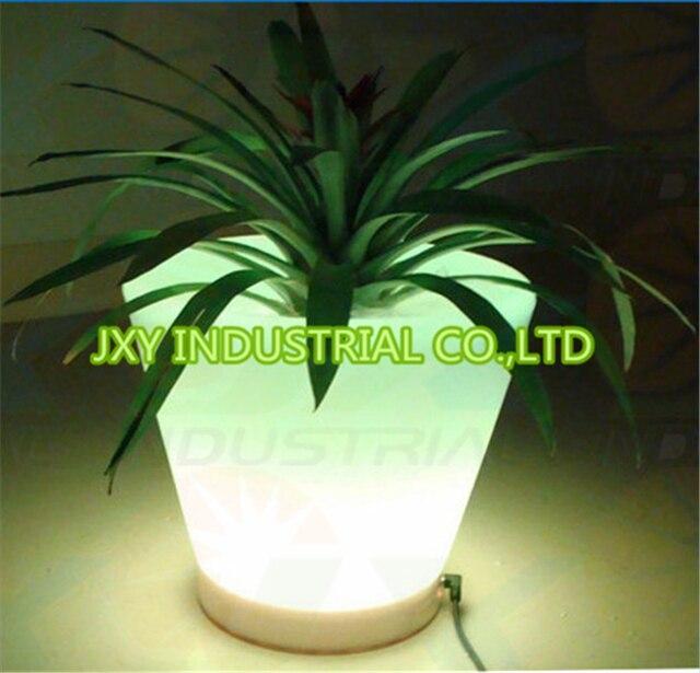 Rgb exterior interior recarga LED tiesto luz, muebles de jardín en ...