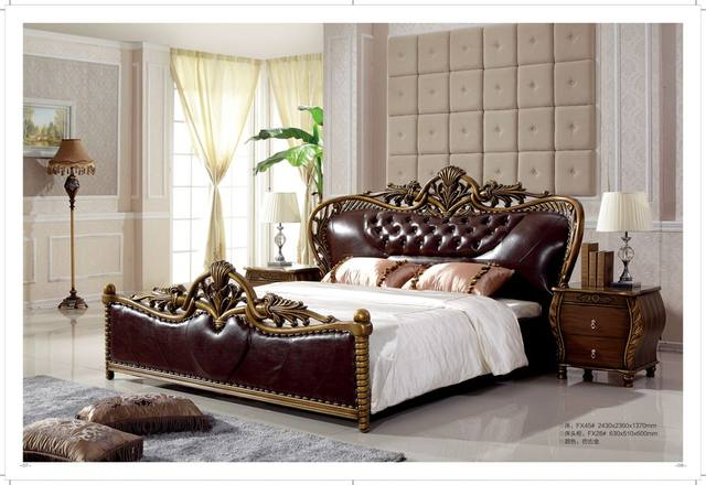 Excelente Muebles De Cama De Alta Rey Composición - Muebles Para ...