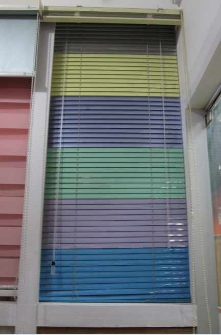 Aluminium blinds/colorful curtains/window curtain/blackout vertical blinds fabric/sale designer curtains