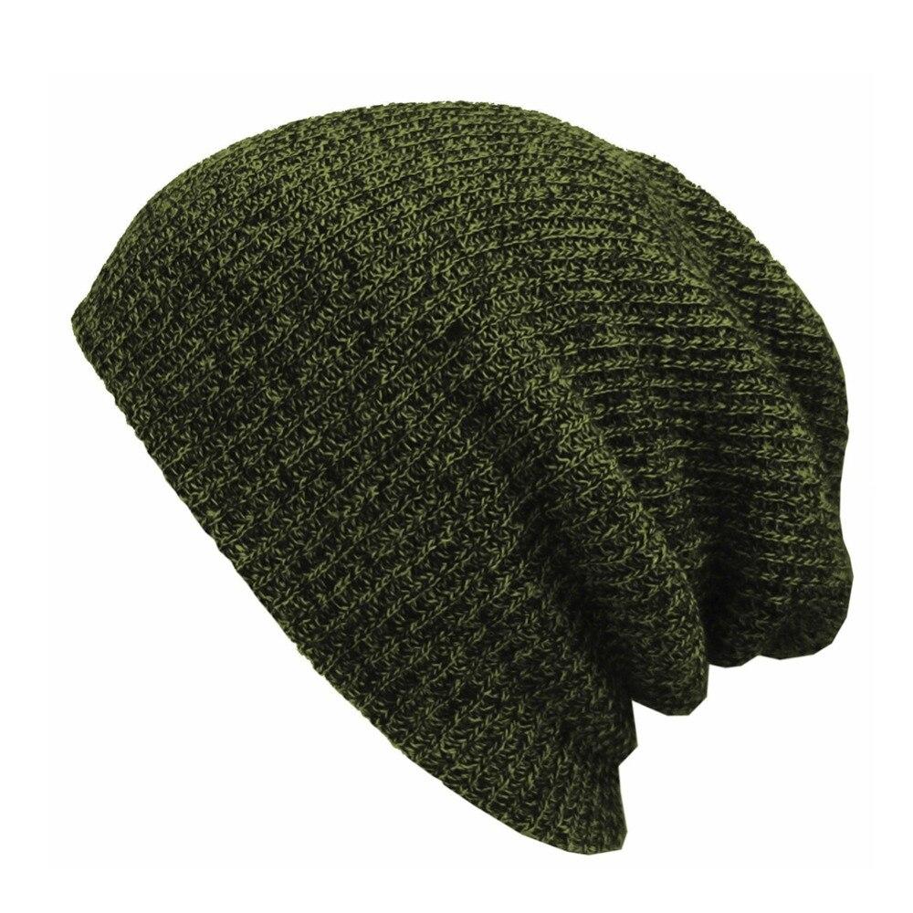 Women Fashion Keep Warm Knitted Hats Girls Caps feminina   Skullies   Hat Female hats Soft Baggy   Skullies     Beanies   Men
