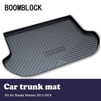 BOOMBLOCK Car Special Trunk Floor Foot Mat Pad Non-slip Dustproof Interior Accessories For Nissan Murano 2018 2017 2016 2015