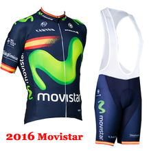 Pro cycling jersey team 2016 new arrival M-1047 summer style short sleeve MTB ropa ciclismo men sport wear cycling wear