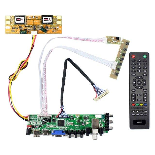 HDMI VGA AV USB ATV DTV LCD drive Board Work for M215HW01  M215HW03  HM215WU1 LM215WF1  LM230WF1  LTM230HT01   MT230DW01