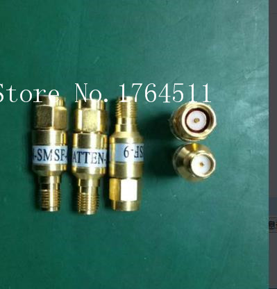 [BELLA] ATTEN-SMSF-6 DC-6GHZ 6dB SMA Coaxial Fixed Attenuator (F-M)  --5PCS/LOT
