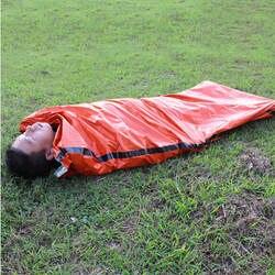 Открытый спальные мешки Портативный чрезвычайных спальные мешки легкий полиэтилен спальный мешок для путешествий Кемпинг Пеший Туризм