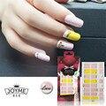 Hot Pink Nail Art Decoraciones Pegatinas 3d Amarillo Envoltura de Uñas Tiras UV Gel Polaco Manicura de Uñas Accesorios de Moda