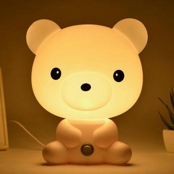 Panda/Rabbit/Dog/Bear Cartoon Kids Room Night LED Light