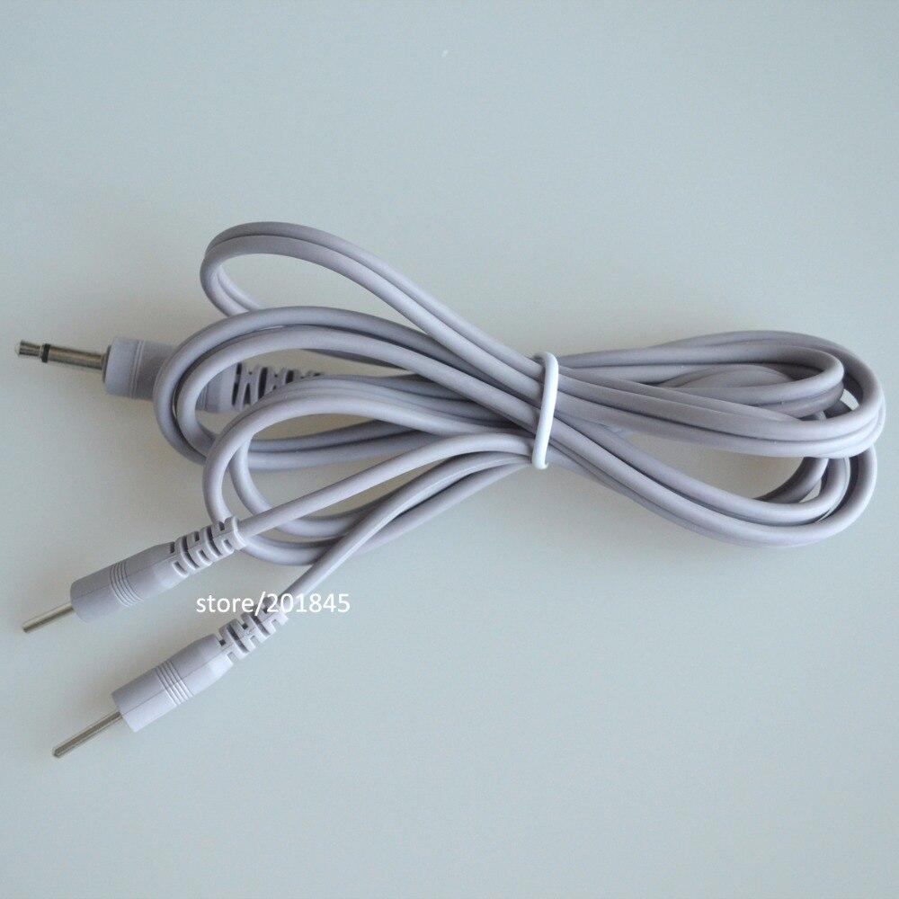 ̀ •́ Wholesale 100 Pcs/Lot Lead Wires Connecting Cables 2 In 1 Plug ...