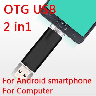 Nuevo Smartphone OTG 8 GB 16 GB 32 GB USB Flash Drive, 64 GB de Memoria Del Usb