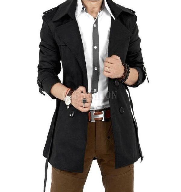 High quality 2014 Men's Dust Coat XXL mens overcoat spring summer ...