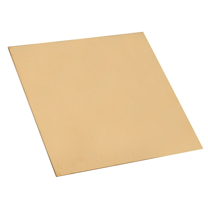 1pc 1mm Thickness Brass Sheet Plate 100mm*100mm With Corrosion Resistance For Welding Brzing Tool