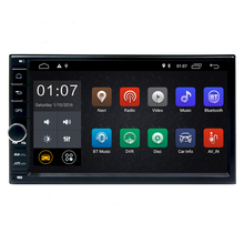 Free shipping 2G RAM 7 inch 2 din android 8.1 car dvd player GPS radio for NISSAN Elantra TIIDA X-TRAIL QASHQAI NV200 LIVINA