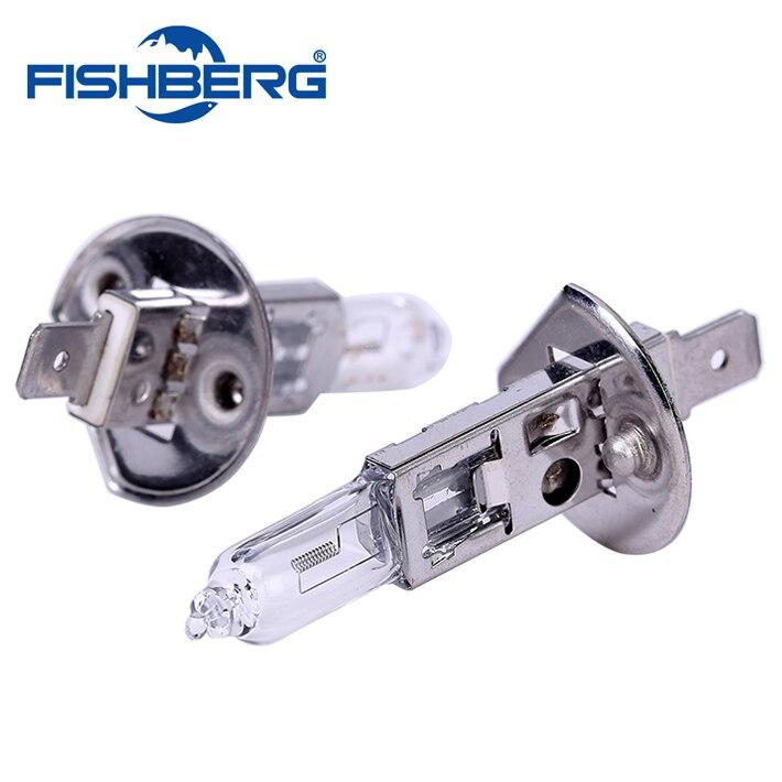 2pcs/lot Auto Car H1 Headlight Bulb Lamp Cars Halogen 12V 55W White 4000K Car Styling For Ford Focus For Auto Light