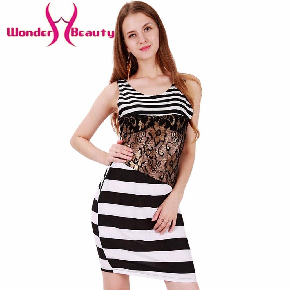 Beauty Fashion Group: Wonder Beauty Fashion Zebra Pattern Lace Mesh Patchwork