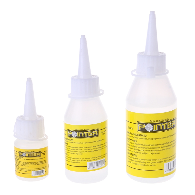 20ml Liquid Glue Alcohol Adhesives Textile Adhesives Stationery Office School Supplies