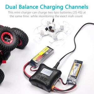 Image 4 - Lipo chargeur de batterie HTRC H4AC à double Port, professionnel, 20w, x2, 2A x2, pour piles 2 4s