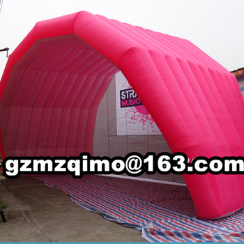 Supper huge red tunnel tent inflatable stage tunnel marquee,garage shelter cover tent for sale цена 2017