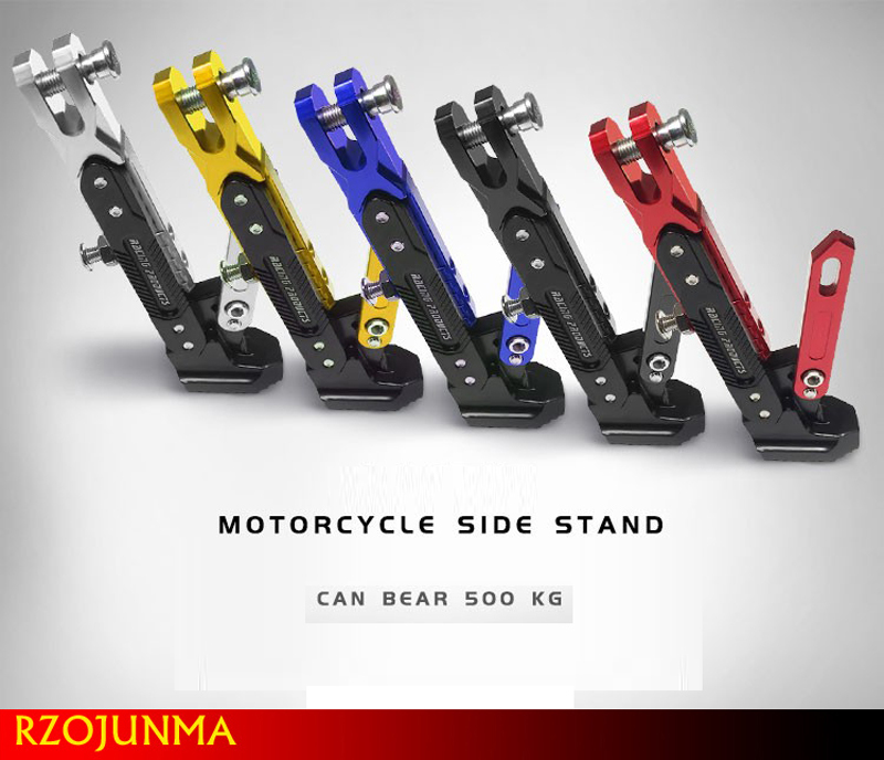OL Motorcycle support side frame adjustable high side support modified scooter side stand for Motorcycle Kickstand