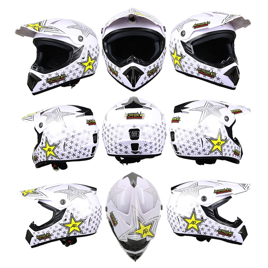 AHP Bicycle Helmet Classic Motobiker MTB DH Racing Men Women Cycling Helmet Motocross Downhill Adult Bike Helmet