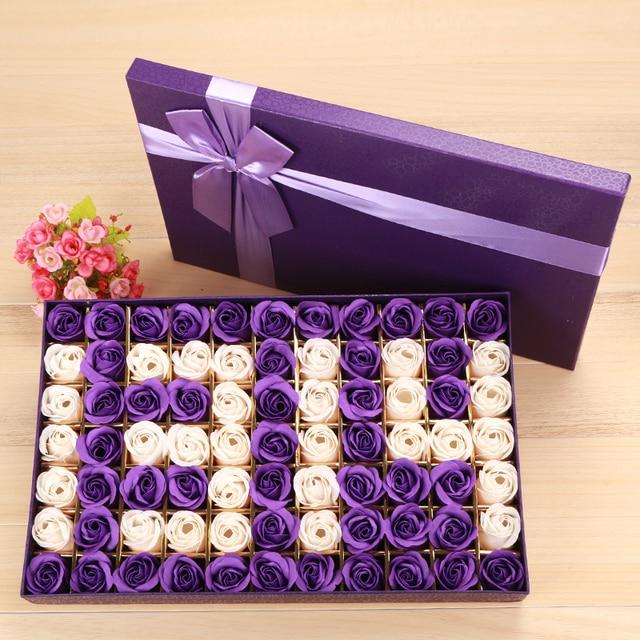 bc78f835dc76a9 R$ 135.86 |Flor sabão presente de aniversário criativo para sua esposa  romântico especial da menina namorada melhor amigo prático presentes de ...