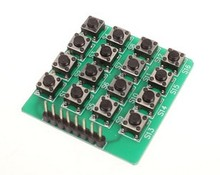 1PCS 4x4 16-Key Matrix Keypad Keyboard Module 16 Buttons For Specially designed for power amplifiers(China)
