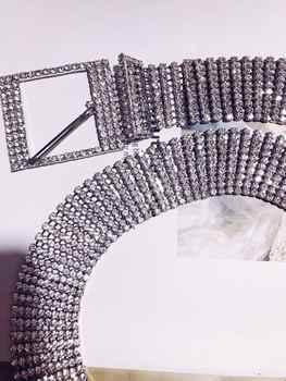 New European and American style luxury full star waist chain wild casual waist chain 736