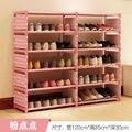 ENVÍO gratis 5 LayersX2 Armarios estantes Zapato No tejida sencilla sala de estar decoración para el hogar de almacenamiento de residuos