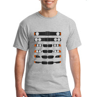 進化の3メンズtシャツスーパーカーtシャツトップス男性綿100%カスタムデザイン印刷tシャツのための男性2018
