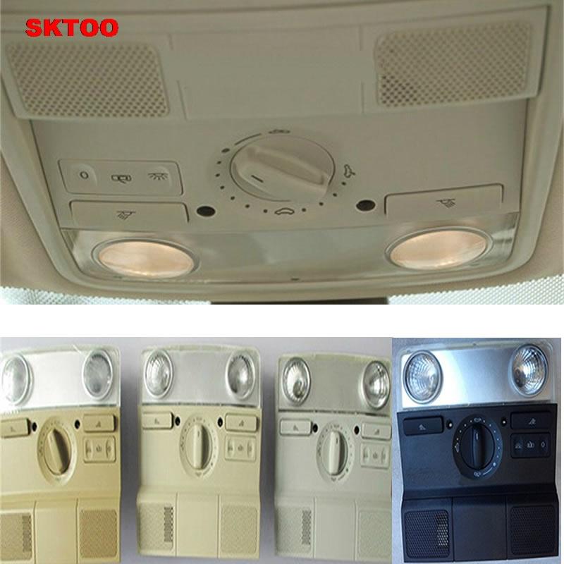 Dome light Front Ceiling Lamps Reading Lamps Interior Lamps for Volkswagen Sagitar MAGOTAN Golf6 MK6 Jetta