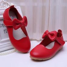 Filles Chaussures Nouveau Eur21-35 Véritable En Cuir Enfants Baskets Enfants Chaussures Noir Rouge Rose Blanc Pour Les Filles Chaussures chaussure enfant