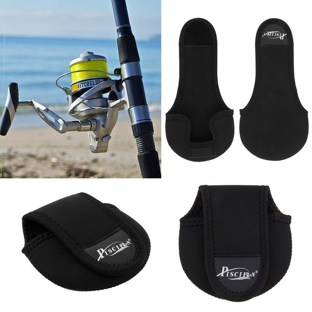 Nylon Carcia Spinning Wheel Baitcasting Fishing Reel Bag Protective Case Fishing Tackle Black High Quality
