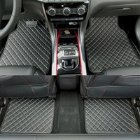 ZHAOYANHUA Universal car floor mats for all models Skoda Superb Yeti Fabia Rapid spaceback Car styling