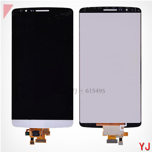 Original New G3 LCD Screen and Digitizer Assembly for LG G3 D850 D851 D855 VS985 LS990 - White Grey Gold