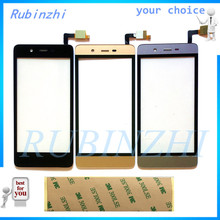 купить Mobile Phone Front Glass Touch Screen Digitizer For DNS S4504 Innos I5 Dialog i43 Sensor Touchscreen Panel Replacement Parts  по цене 233.63 рублей