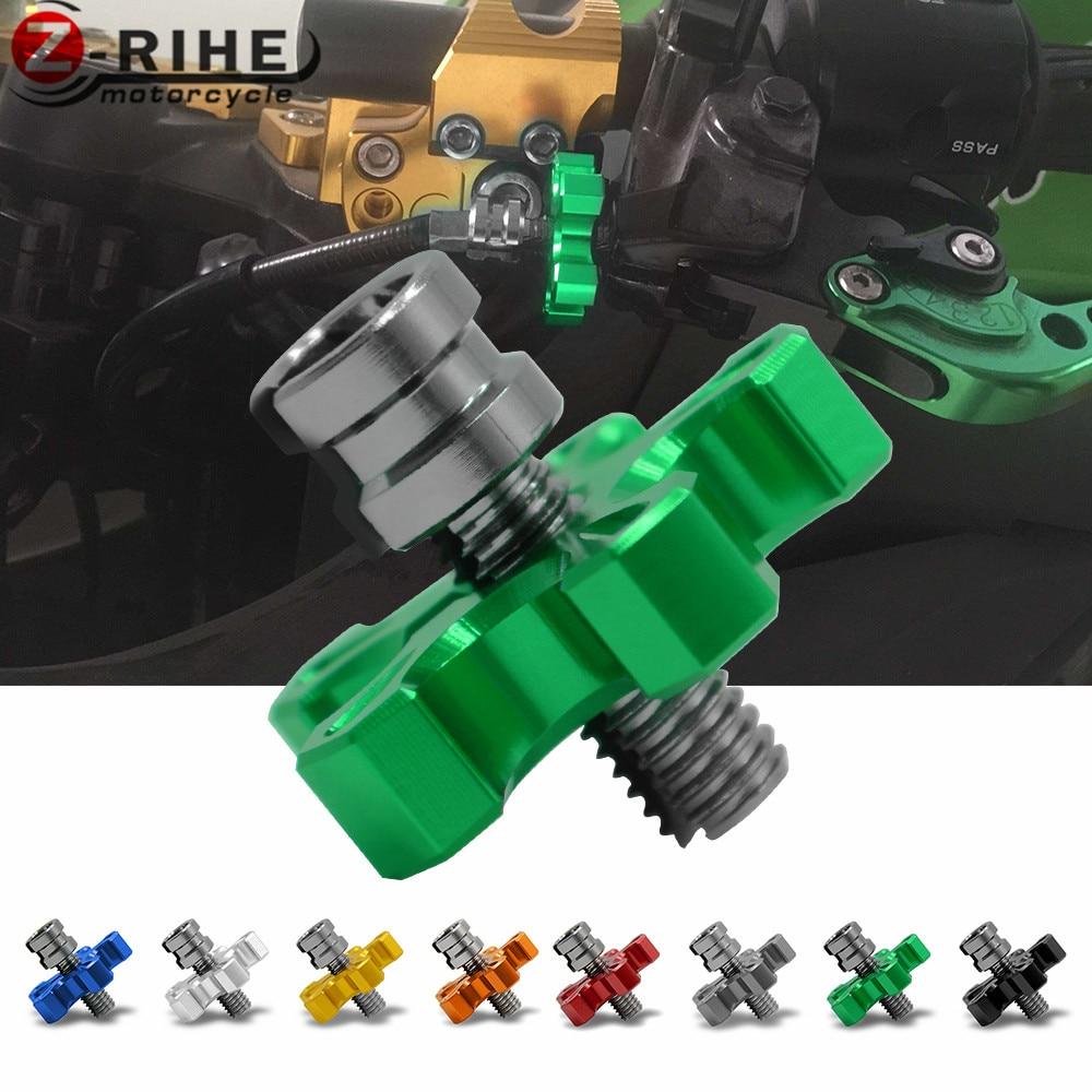 М8 * 1.25 мотоцикл механиче сцепления регулировка провода кабель для Kawasaki GTR1400/concours в ниндзя 650р 400р ЕР-6Ф ЕР-6Н EX650 Z750 З