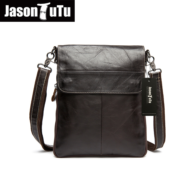 Hot!Men messenger bags High quality Soft genuine leather bag Vintage men shoulder bags luxury brands men casual briefcase HN205  цены
