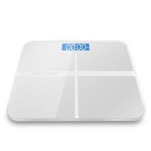 Image 5 - A1 dokładne oferty, łazienka waga inteligentny elektroniczny cyfrowy waga domu zdrowie równowaga szkło hartowane wyświetlacz LCD 180 kg/50g
