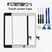 Atten Touch Glass Screen Digitizer Panel Repair Parts For IPad Air 1 Touch Panel For IPad