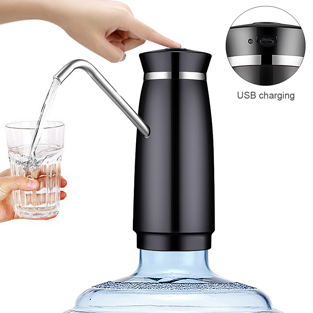 Wireless Electric Automatic Drinking Water Bottle Pump With USB Rechargeable Smart Drinking Water Dispenser