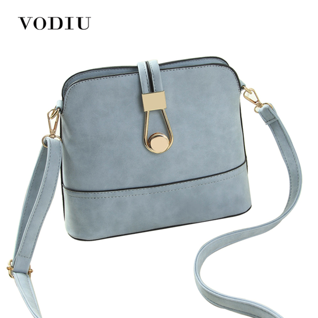 Women Bag Handbags Over Shoulder Crossbody Sling Summer Leather Messenger Scrub Shell Lock Fashion Small Las