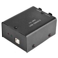 512 Channel Daslight CD Converter Decoder USB To DMX512 Computer Black Module LED Light Mini Stage Lighting Controller