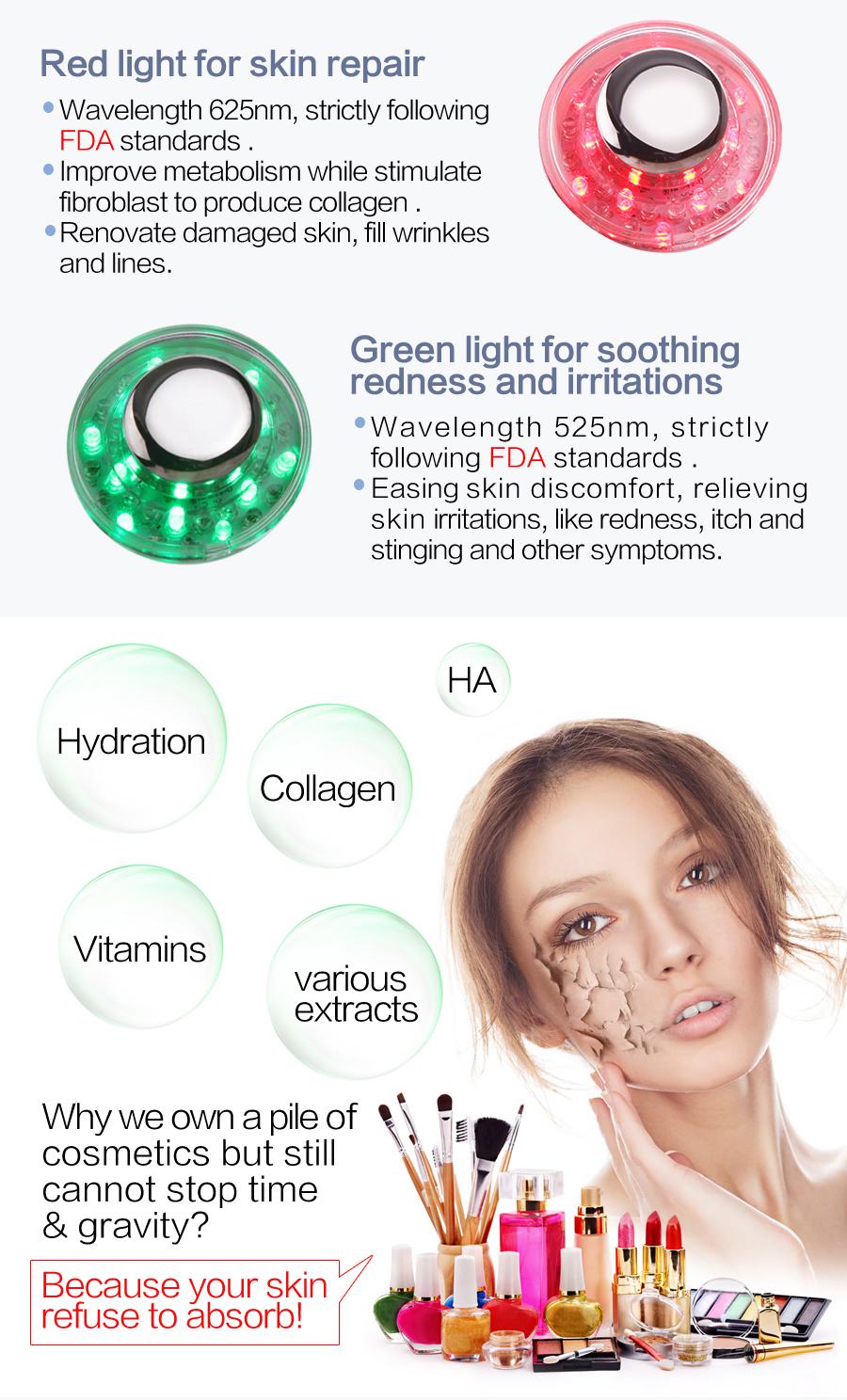 La goodwind CM-2-2 Home Use Ultrasonic Skin Care