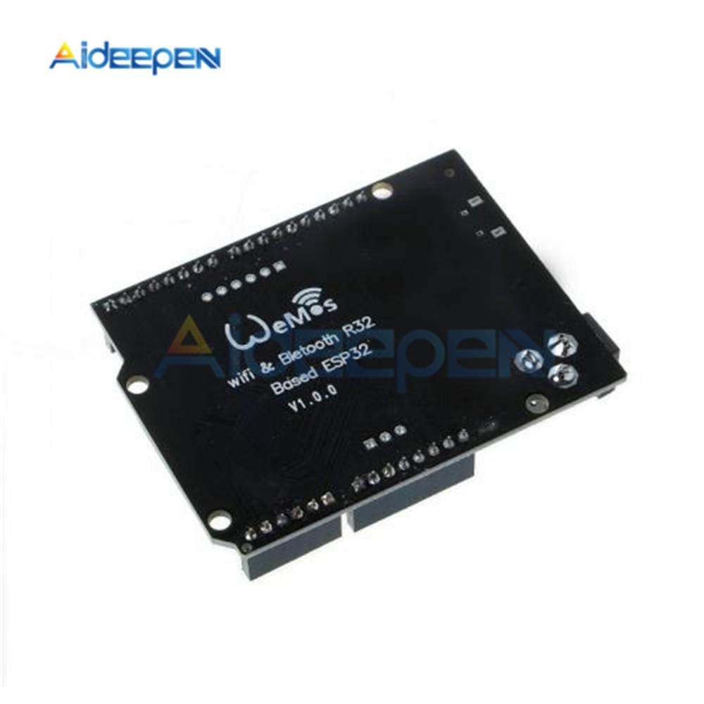 For ESP32 WiFi Bluetooth Development Board For Wemos D1 R32 Wireless Development Board Module For Arduino UNO R3 One 4MB Flash 5