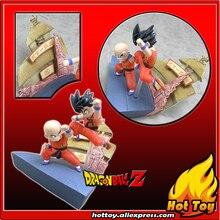 "Original BANDAI Gashapon PVC Toy Figure HG Imagination 01 – Goku VS Klilyn (Kuririn) from Japan Anime ""Dragon Ball Z"" (5cm tall)"
