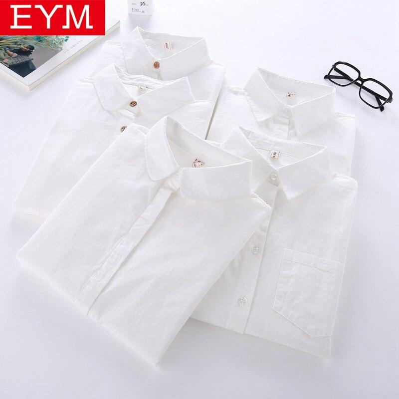 White Shirt Women Long Sleeve 2018 New Brand Blouse