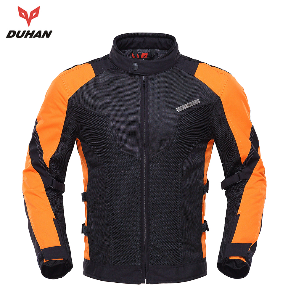New DUHAN Summer Motorcycle Jackets Breathable Motorcycle Body Protector Motorcycle Racing Protective Armor Jacket scoyco motorcycle riding knee protector extreme sports knee pads bycle cycling bike racing tactal skate protective ear