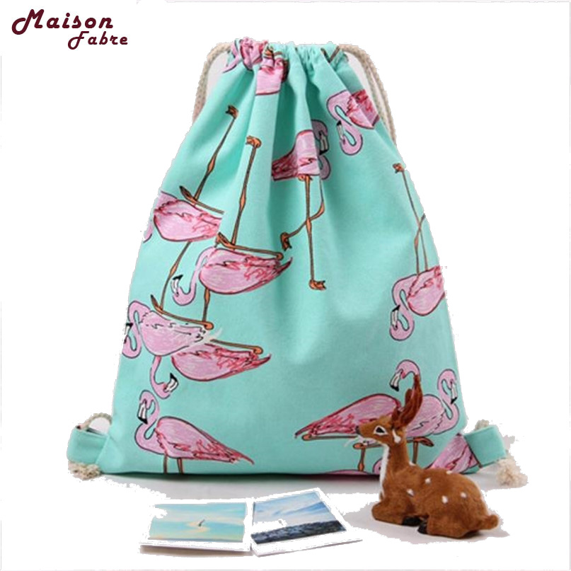bolsa de viagem mulheres flamingos Color : Green